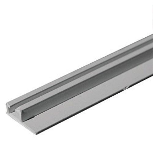 """RV Designer A206W Internal Ceiling Slide Track - White, 96"""""""