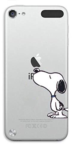 Phone Kandy Cartoon Transparent Hard Shell Cartoon Case Skin & Screen Guard for iPod Touch 5 or 6 (tip01) (iPod Touch 5 or 6, Snoopy) (Ipod Touch 5 Cases Stitch)