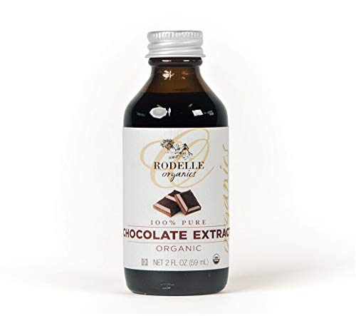Rodelle Organics Pure Chocolate Extract, 2 Ounce ()