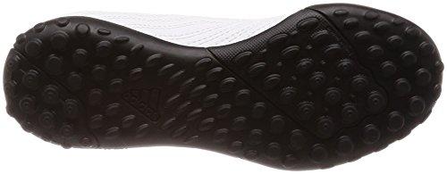 adidas Unisex-Kinder Predator Tango 18.4 TF H&l Gymnastikschuhe Mehrfarbig (Ftwr White/core Black/real Coral S18)