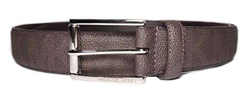 Michael Kors Mens MK Logo Brown Belt Size 36 (Michael Kors Mens Belt)