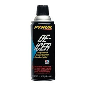 Windshield De-Icer, Aerosol, 11.5 Oz. by PYROIL