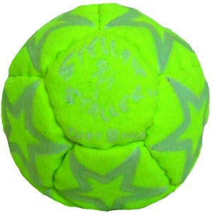 Stellar Staller Glow in The Dark Footbag Fluorescent Green