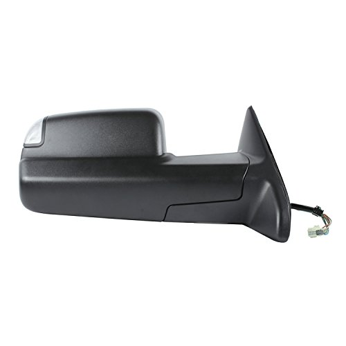 - Fit System 60195C Dodge/Ram 1500, 2500, 3500 Right Heated Power Replacement Towing Mirror