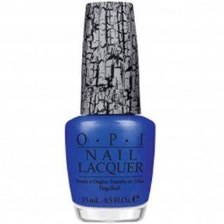 OPI Shatter Nail Lacquer, Blue, .5 fl.oz.