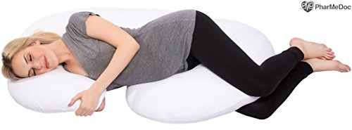 PharMeDoc Total Body Pillow - The World's MOST Comfortable Maternity / Pregnancy...