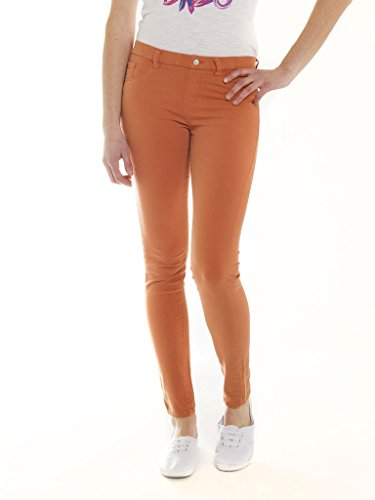 para Jeans Vaqueros Skinny 369 Carrera Mujer Naranja qvztxH