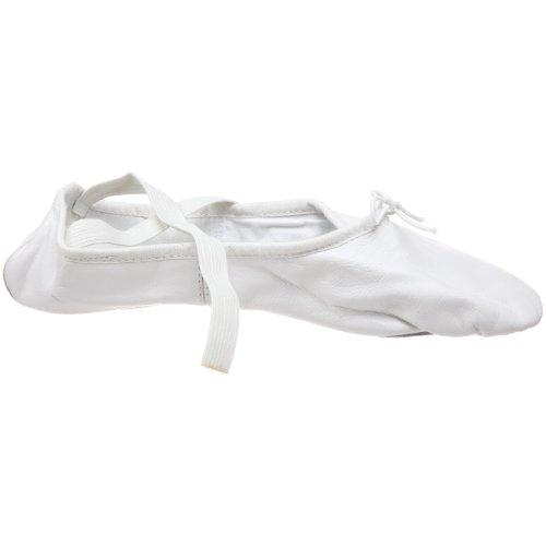 Bloch Danse Kvinners Prolite Ii Skinn Ballett Tøffel Hvit