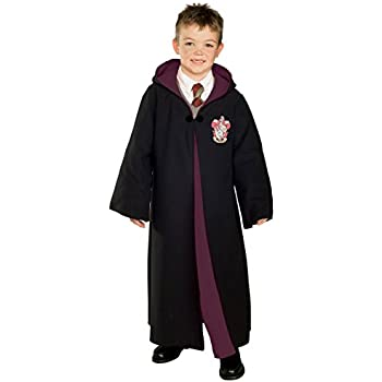 Rubieu0027s Deluxe Harry Potter Childu0027s Hermione Granger Costume Robe With Gryffindor Emblem Large  sc 1 st  Amazon.com & Amazon.com: Rubieu0027s Deluxe Harry Potter Childu0027s Hermione Granger ...