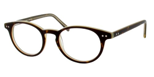 Eddie Bauer Reading Glasses - 8206 in Black-Olive ; - Eddie Glasses Bauer