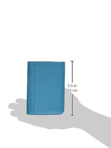 Travel Smart by Conair RFID-Blocking Passport Wallet, Teal