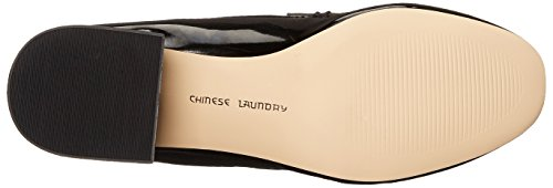 Patent Slip Black Marilyn Women's on Laundry Chinese Black Loafer ACq8S1Wwx