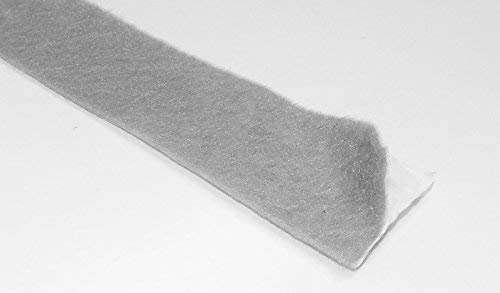 Adhesive Backed Gray Felt Tape - 50 Ft Long