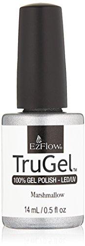 EZ Flow 1st Launch Marshmallow Gel Polish, 0.5 Fluid Ounce