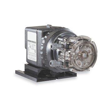 Stenner 45MJL5A1STAA Single Head Adjustable Mechanical Feed Peristaltic Pump 50 GPD 115 VAC