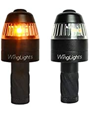 CYCL Men's WingLights 360 Mag Direction Indicators/Permanent Lights for Bicycles, Black, 10.6cm x 8.3cm x 3.4cm