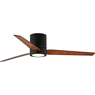 Progress Lighting P2588-12930K Braden 56inch Indoor Hugger Ceiling Fan Architectural Bronze