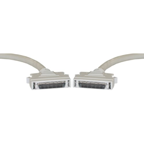 Db50 Male One End - CLASSYTEK SCSI II Cable, HPDB50 (Half Pitch DB50) Male, 25 Twisted Pairs, 6 Foot