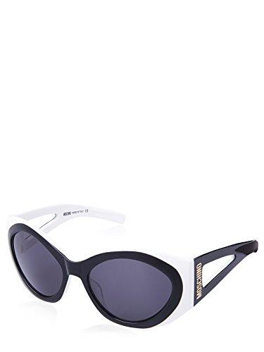 Moschino de Bianco Eye Sol 57 Negro Mujer para Gafas Nero OFOwr