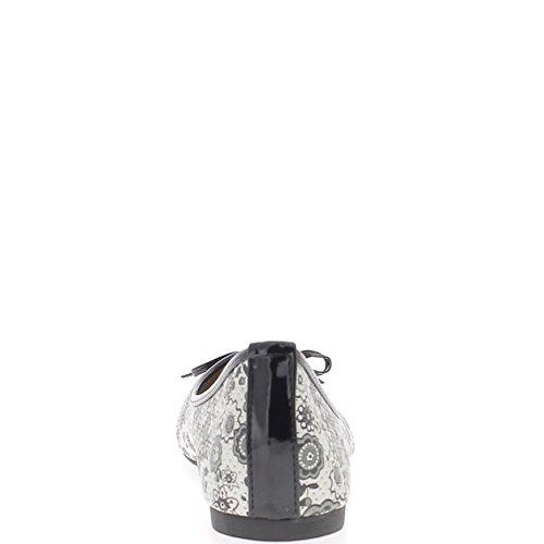 Chaussmoi Ballerine Bordo Nodo Nero Dimensioni Grandi Multicolore Perforata E Con Micro OqqpAx