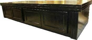 R&J Enterprises ARJ40501 Xtreme Series Oak Wood Aquarium Canopy, 72 by 24-Inch, Black by R&J Enterprises