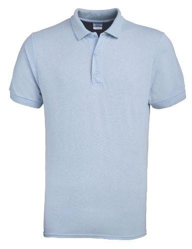Gildan Ultra Cotton TM gekämmte ringgesponnene Piqué-Polo Erwachsenen XS,Licht Blau