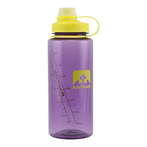 Nathan LittleShot BPA Free Water Bottle, Narrow & Wide Mouth, 24oz/ 750ml