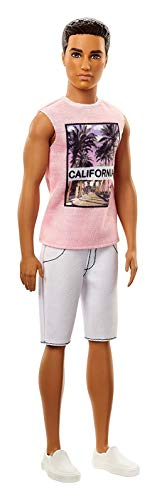 - Mattel  Barbie Fashionistas Cali Cool Ken Doll