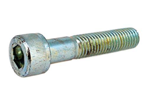 鉄(SCM435)/ユニクロ キャップボルト (半ねじ) M8×80 (4本)