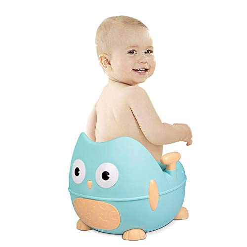 (Children's potty chair 3 in one Child Toilet Toilet XL Infant Toilet Training seat Stool Men and Women Baby Toilet Urine Bucket Portable Urinal with Anti-Slip feet and deepen The Toilet)