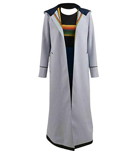MJPARTY Adult Dr Jodie Fancy Dress Costume Ladies TV Fancy Dress Complete Outfit (Large(18-20))
