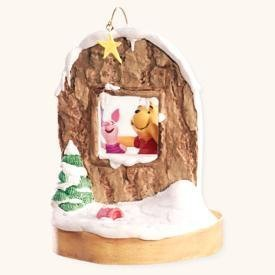 "Hallmark Keepsake ""2008"" Lucky Star Winnie the Pooh Collection Christmas Ornament"