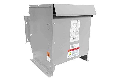 37.5 kVA Isolation Transformer - 208V Primary - 240V Secondary - Single Phase - NEMA 3R
