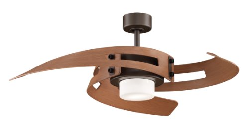 Avaston 3 Blade Ceiling Fan - Finish: Oil-Rubbed Bronze