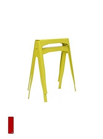 TOLIX Y Tischböcke 2er Set - kaminrot - Normal Studio - Design ...