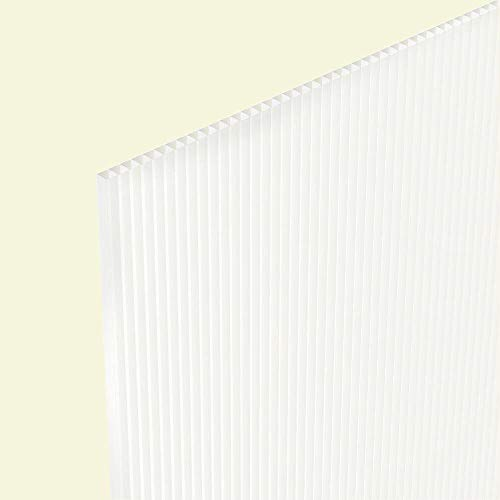 (Twinwall Plastic Sheet - 24x36 4MM (15 Pack) (Clear))