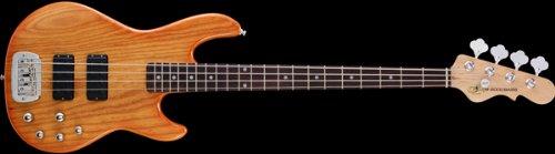 G&L Tribute M2000 4-String Electric Bass Honey Burst Rosewood Fretboard ()