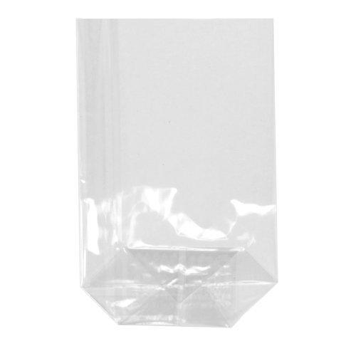 Sacchetto trasparente in cellophane, 100 pezzi, 9 x 16 cm, di alta qualità di alta qualità TEXTIMO