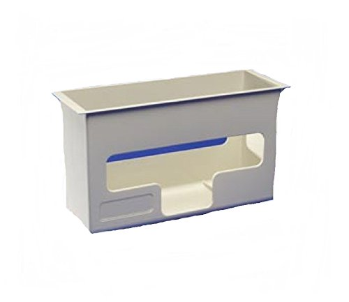 Plastic Glove Box Holder, For Kendall In Room Wall Enclosure System Large, 1 ea