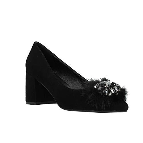 Chaussure Femme Suede Pour Pena Alma Noir En txqAzqwU