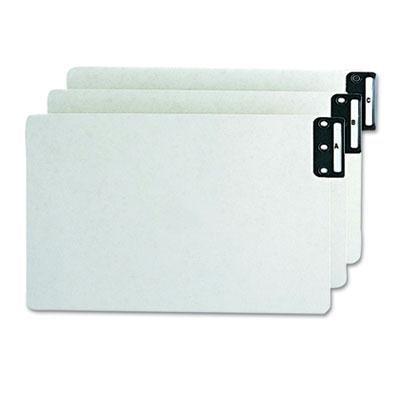 Brand New Smead End Tab Guides Alpha Vertical Metal Tabs Pressboard Legal 25/Set