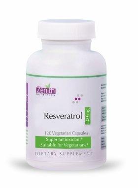 Zenith Nutrition Resveratrol 500 Mg -120 Capsules