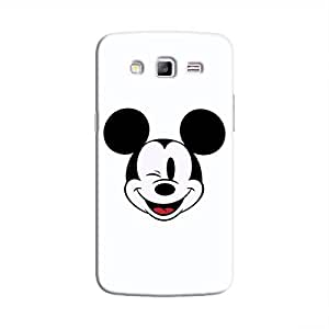 Cover It Up - Wink Mickey Galaxy Grand Prime Hard Case