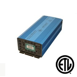 AIMS Power 1500 WATT Pure SINE Inverter 12 VDC to 120 VAC - Non UL Listed by Aims