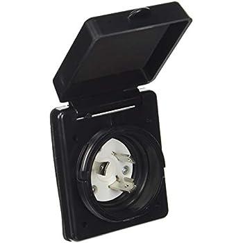 Amazon.com: ParkPower 150BBIW.RV 15 Amp Power Inlet, White