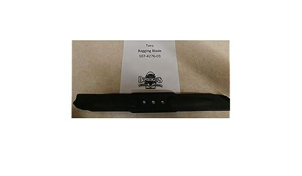 Toro embolsado hoja 107 - 4276 - 03 Compatible con toro 22178 ...