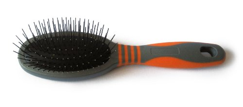 GoGo Pet Products Deluxe Pin Pet Grooming Brush, Small -