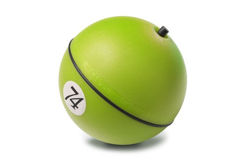 D&D Dog and Cat Toy Adventure Magic Ball, 8cm, Lime