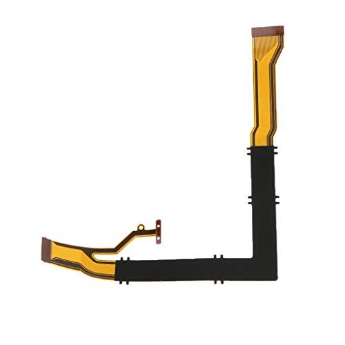 Shaft Rotating LCD Flex Cable Part for CASIO ZR1750 Digital Camera Repair Part (10PCS)