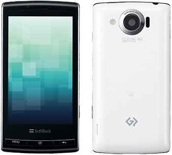 シャープ SoftBank 003SH ホワイト 携帯電話 白ロム